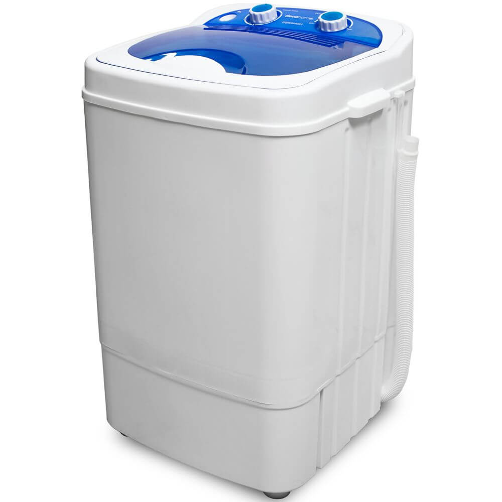 Deco Home Portable Washing Machine for Apartments, Dorms, 8.8 lb Capacity, 250W Power - DecoGear