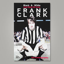 Load image into Gallery viewer, Cover artwork of Frank Clark's book Black & White And Red All Over with Terry Bowles