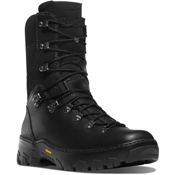 "DANNER WILDLAND TACTICAL FIREFIGHTER 8"" BLACK SMOOTH-OUT - Danner - Drew's Boots"