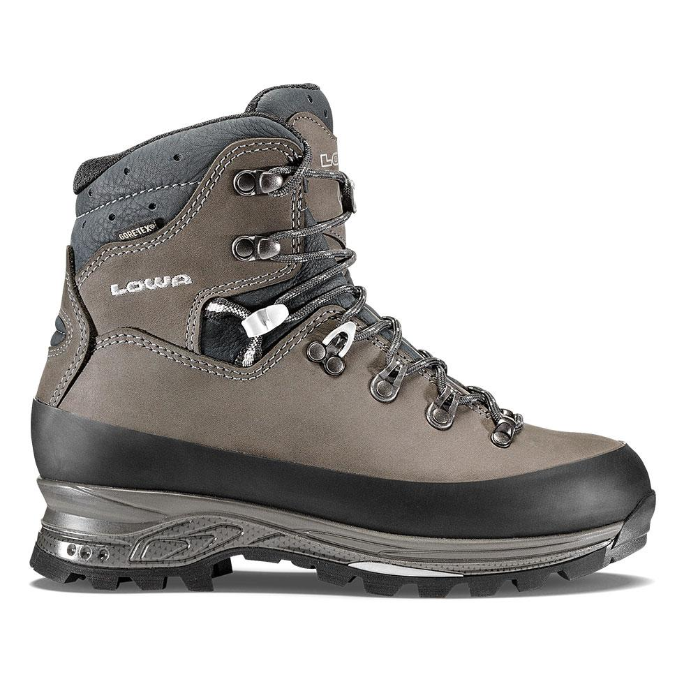 Lowa Tibet GTX Women's- Dark Gray/Navy - Baker's Boots and Clothing