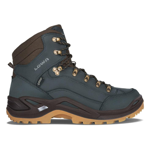 Lowa Renegade GTX Mid - Navy/Honey - Baker's Boots and Clothing