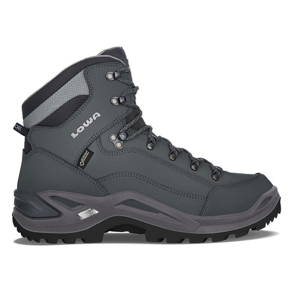 Lowa Renegade GTX Mid - Graphite/Light Gray - Baker's Boots and Clothing