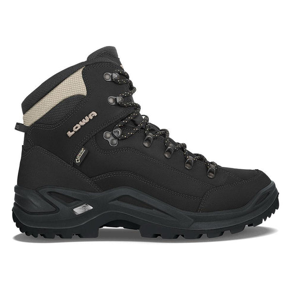 Lowa Renegade GTX Mid - Black/Pebble - Baker's Boots and Clothing