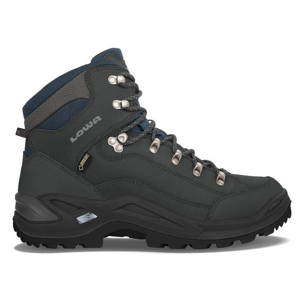 Lowa Renegade GTX Mid - Dark Gray/Navy - Baker's Boots and Clothing