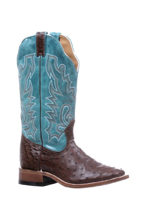 Boulet Boots Style #5508 _OSTRICH WOMEN'S WESTERN BOOT - Boulet - Drew's Boots