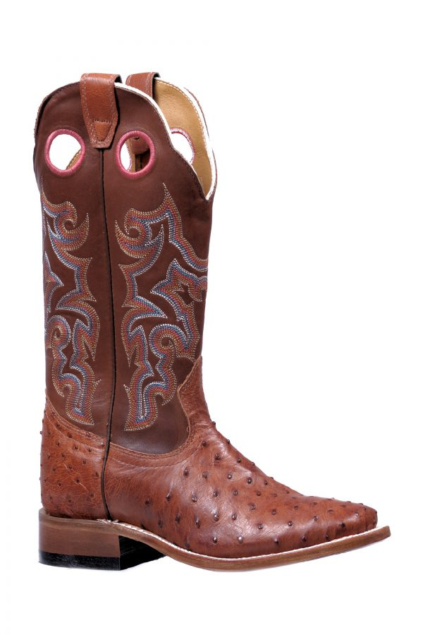 Boulet Boots Style #5510 _OSTRICH WOMEN'S WESTERN BOOT - Boulet - Drew's Boots