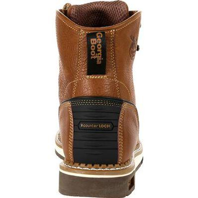GEORGIA BOOT AMP LT WEDGE STEEL TOE WORK BOOT - Baker's Boots and Clothing