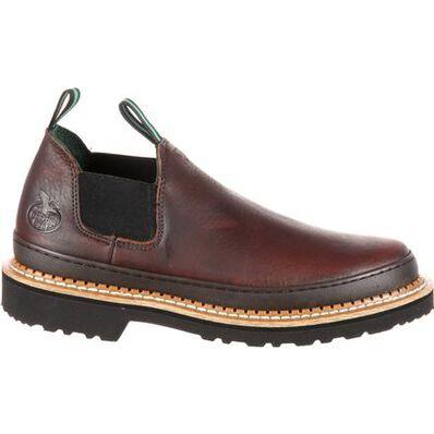 GEORGIA GIANT ROMEO WORK SHOE - Baker's Boots and Clothing