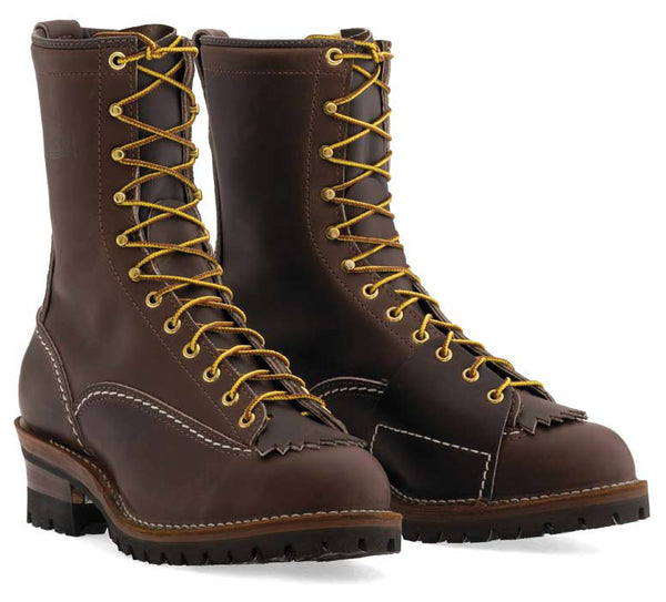 "Wesco 10"" Brown Highliner Style# BR9710-100 - Wesco - Drew's Boots"