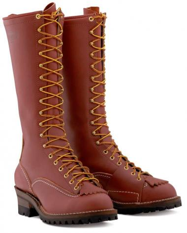 "Wesco 16"" Redwood Highliner Style# RW9716-100 - Wesco - Drew's Boots"