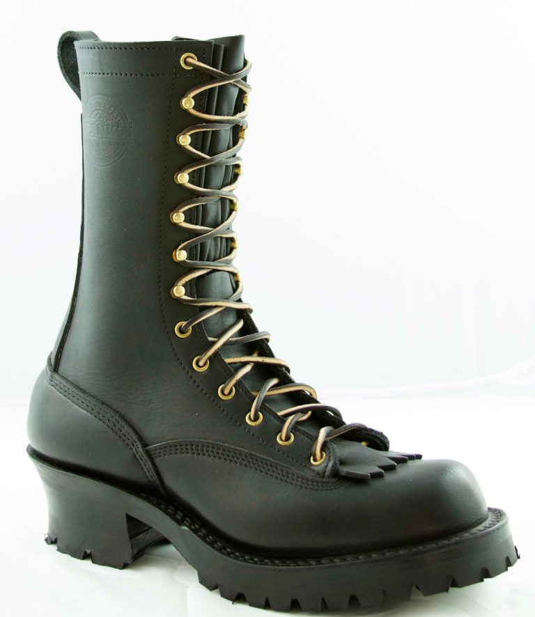 "Frank's Boots - Type 1 Commander - 10"" - Lace to Toe - Frank's Boots - Drew's Boots"