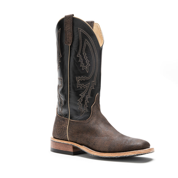 Anderson Bean Brown Safari Cape Buffalo #330011 - Drew's Exclusive - Anderson Bean - Drew's Boots