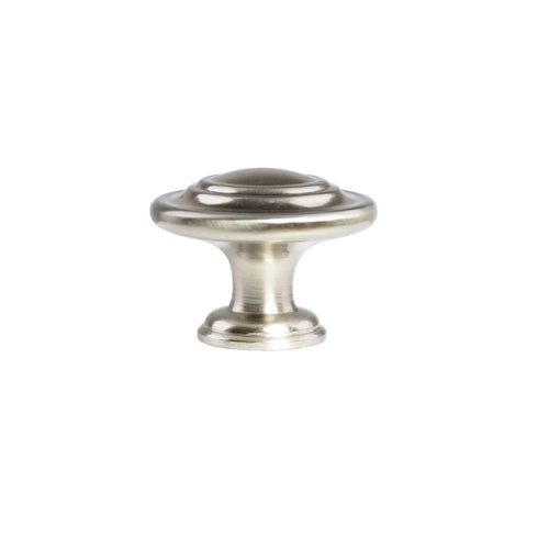 Traditional Round Ring Cabinet Knob, 1-1/4 in