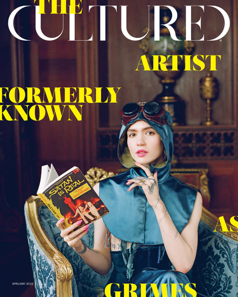Cultured Magazine Spring 2019, The Artist Formerly Known as Grimes