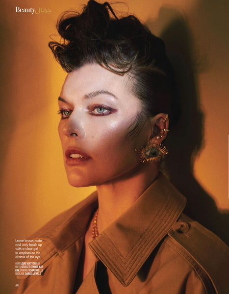 Vogue Arabia January 2021, Milla Jovovich