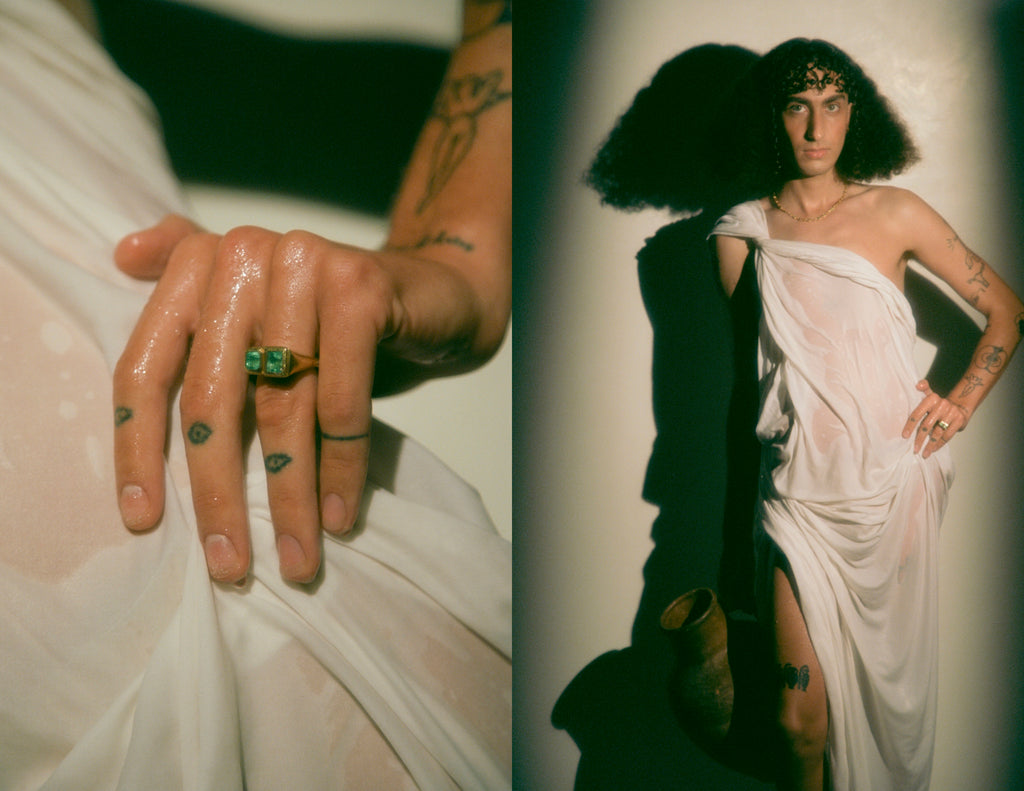 DARIUS JEWELS 2021 COLLECTION LOOKBOOK PHOTOGRAPHED BY RICHIE DAVIS
