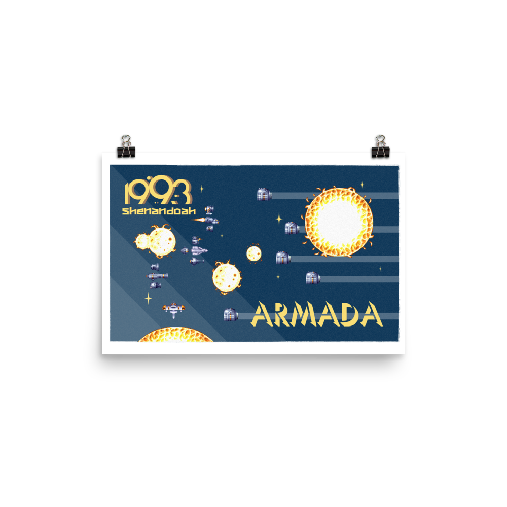 Armada w/Text Poster