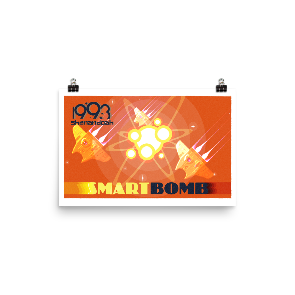 Smart Bomb w/Text Poster