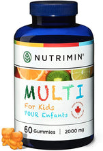 Load image into Gallery viewer, Multi for Kids Multivitamin Gummies - 60 count - Nutrimin Canada