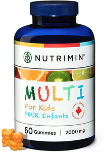 Multi for Kids Multivitamin Gummies - 60 count - Nutrimin Canada