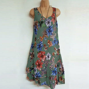 Tank Double Printed Dress