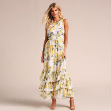 Load image into Gallery viewer, Sexy sleeveless printed dress