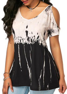 Short-sleeved women's loose oversized top