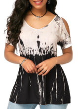 Load image into Gallery viewer, Short-sleeved women's loose oversized top