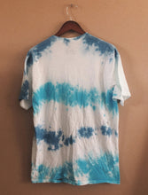 Load image into Gallery viewer, Round neck short sleeve tie-dye casual cotton tee