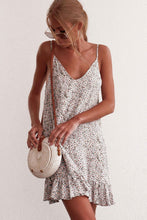 Load image into Gallery viewer, NEW! Above the knee print / floral sleeveless top casual / casual dress