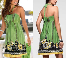 Load image into Gallery viewer, Print Sleeveless Shift Vacation Dresses