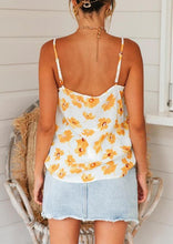 Load image into Gallery viewer, Sunflower Camisole without Necklace - White