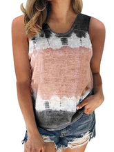 Load image into Gallery viewer, Casual Loose Crew Neck Printed Vest