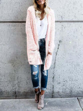 Load image into Gallery viewer, Fluffy  Long Sleeve Cardigans  |ZTD