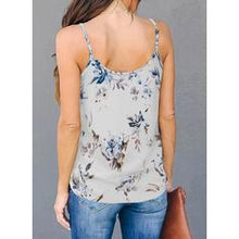 Load image into Gallery viewer, Leopard Spaghetti Strap Sleeveless Casual Tank Tops