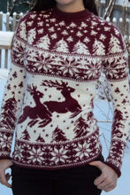 Load image into Gallery viewer, Casual Long Sleeve Christmas Sweater