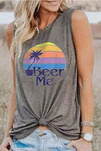 Load image into Gallery viewer, Cristalove Beer Me Tank Top Tee