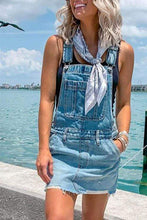 Load image into Gallery viewer, Cristalove Cool Overall Denim Dress