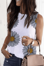 Load image into Gallery viewer, Cristalove Daisy Tee Tank Top