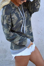 Load image into Gallery viewer, Cristalove Fashion Camo Top Hoodie