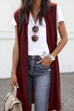 Load image into Gallery viewer, Cristalove Fashion Long Vest Cardigan