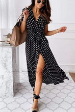 Load image into Gallery viewer, Cristalove Polka Kots Party Queen Dress