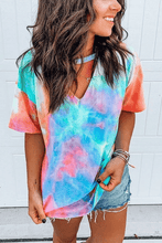 Load image into Gallery viewer, Cristalove Starry Sky Tie Dye T-shirt
