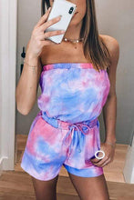 Load image into Gallery viewer, Cristalove Tie Dye Drawstring Two Piece Set
