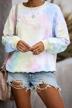 Load image into Gallery viewer, Cristalove Tie Dye Sweat T-shirt