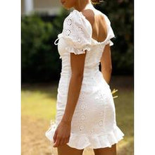 Load image into Gallery viewer, NEW! Solid Short Sleeves Sheath Above Knee Casual Dresses