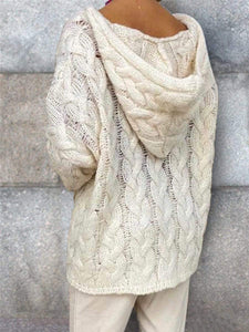 Fall/Winter Casual Loose Hooded Long Sleeve Sweater