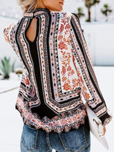 Load image into Gallery viewer, High Neck  Floral Printed  Blouses  |ZDT