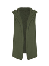 Load image into Gallery viewer, Hooded polar fleece Waistcoat