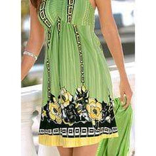 Load image into Gallery viewer, NEW! Print Sleeveless Shift Above Knee Sexy/Vacation Dresses